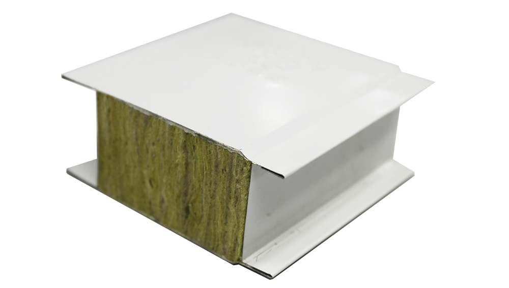 Rock wool sandwich panel (A1 fire protection)